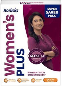 Horlicks Women's Plus Caramel Energy Nutrition Protein Drink 400 Gm Refill