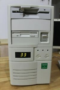 386x processor/2mb RAM/256kb video RAM/without HDD, system unit computer