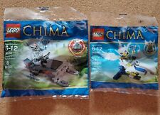 LEGO Legends of Chima Winzar's Pack Patrol (30251) and Ewar's Acro Fighter 30250