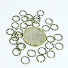 300 Anillas Abiertas 8x1mm T338H Cobre Open Ring Anello Aperto Copper Rame