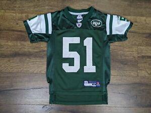 Reebok New York Jets Jonathan Vilma Jersey Size Youth Small
