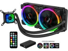 Rosewill RGB AIO 240mm CPU Liquid Cooler,  Closed Loop PC Water Cooling, Quiet A