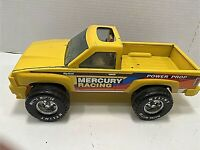 "Nylint Mercury 1990""S Racing Power Prop Yellow 1990 Metal Muscle Pick up Truck"