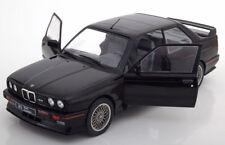 BMW M3 E30 BLACK SUPERB REPLICA 1:18 GREAT DIECAST MODEL VERY RARE COLLECTORS