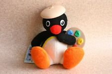 Banpresto PINGU Plush Artist Painting Doll with Tag