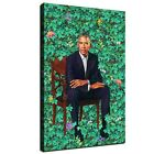"""36x24"""" Kehinde Wiley Portrait of Barack Obama HD print on canvas huge wall art"""