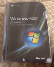 Microsoft Windows Vista Ultimate Operating System 32 & 64-bit Compete
