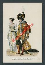 Lami Napoleone I. svolazzi ufficiale Uniform DAME MODE stemma araldica Empire 1807
