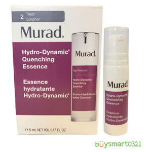 New Murad Hydro-Dynamic Quenching Essence Travel Size 5ml/.17oz Free Shipping