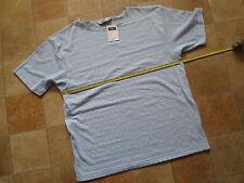 NEW Alibi by Visage cotton mix blue top - size L