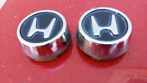 88-91 92-95 HONDA CIVIC Hatchback CRX OEM STEEL WHEEL CENTER CAP Rare