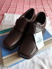 Womens Fly Flot Adjustable Strap Brown Shoes UK 6 - New in Box
