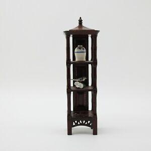 Dollhouse Miniature  Fantastic Merchandise Asian Emperial  Etagere Shelf