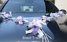 Décoration de voiture/Garland lilas, Mariage Mariée, pour Robe Bouquet la mariée