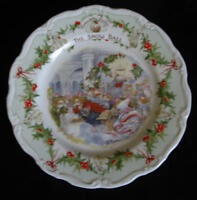 """Royal Doulton, Brambly Hedge - """"The Snow Ball"""" 8 inch plate"""