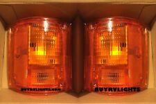 HOLIDAY RAMBLER ADMIRAL 2001 2002 2003 REAR TURN SIGNAL LIGHTS LAMPS PAIR RV