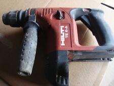 Hilti TE 6-A sans fil 36 volts utilisé HILTI TE 6-A sans fil marteau perforateur nicd -
