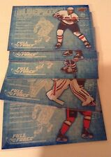 15-16 2015-16 UPPER DECK FULL FORCE BLUEPRINTS - FINISH YOUR SET - LOW SHIPPING