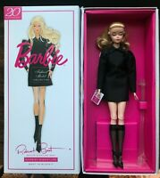 "Barbie Silkstone ""BEST IN BLACK"" Doll Brand New w/ Shipper! ~Gold Label~"