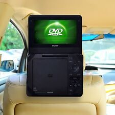 Portable Dvd Player 9 Inch LCD HD Screen Headrest Car Travel CD Kids Movie Gift
