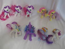 My Little Pony Lot of 9 From 2012 & 2014 Rarity Rainbow Dash Fluttershy