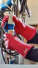 Marigold Class 00 R 11 Electrical Gloves, Class 00, Red, Sz 10, Pair, Mia0011R10