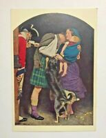 Postcard John Everett Millais The Order of Release Tate Gallery London Vintage