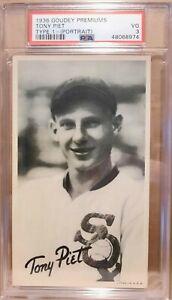 1936 Goudey Premuims Type 1  Tony Piet   PSA 3  Highest Graded
