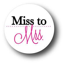 30 Miss to Mrs. Wedding Bridal Shower Invitation Envelope White Sticker Seals