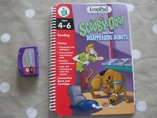 Leap Frog Leap Pad Scooby Doo and the Disappearing Donuts Book and Cassette