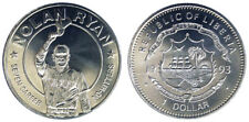 1 DOLLAR 1993 NOLAN RYAN BASEBALL LIBERIA Fdc Unc (KM#101) §498