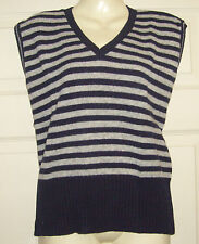 Thin Knit Striped Tank Tops for Women