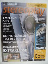 Stereoplay 4/01, benisch discovery, Ultra ya que Sonic 2i, Lindemann amp 4,asr emisor