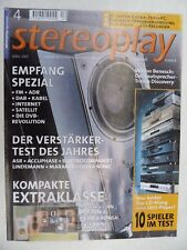 STEREOPLAY 4/01,BENISCH DISCOVERY,ULTRA SONIC DA 2i,LINDEMANN AMP 4,ASR EMITTER