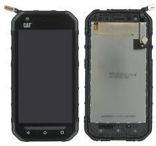 100% Original CAT S30 Display LCD Touchscreen Black Schwarz C-Ware