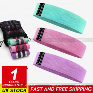 Fabric Resistance Bands Ladies Booty Band Hip Circle Leg Glutes Squat Exercise