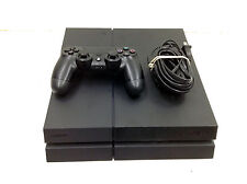 Sony Play Station 4 PS4 Game system console - black - 500gb