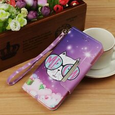 Wallet Leather Case Flip Stand Cover For Samsung Galaxy/Apple iPhone/LG /Huawei