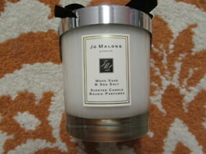 "JO MALONE WOOD SAGE & SEA SALT SCENTED CANDLE, NEW-SEALED, 200G (2.5"")"