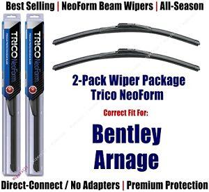 2pk Super-Premium NeoForm Wipers fit 1999-2002 Bentley Arnage - 16240x2