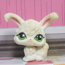 Littlest Pet Shop Animal Collection LPS Toy Gift #515 Angora Fuzzy Rabbit Bunny