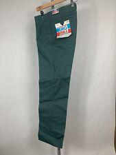 Vintage Nos Nwt Big Bill Green Work Pants Waist Size 30 X 31 (G31)