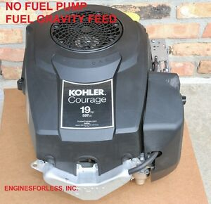 19 HP KOHLER COURAGE SV591-3212  NO FUEL PUMP 597CC LAWN MOWER ENGINE MOTOR