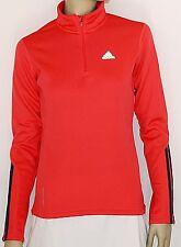 ADIDAS RSP LS zi FleW Shirt Women SweatShirt Damen E81198 Polarfleece Rot Gr. 34