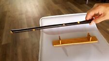 """16"""" hand crafted magic wand unique with white led through the body"""