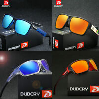 24 Colors DUBERY Mens Polarized Sport Sunglasses Outdoor Riding Square Eyewear