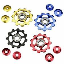 11T Aluminium Jockey Wheel Bicycle Rear Derailleur Pulley Guide Bearing 1 set