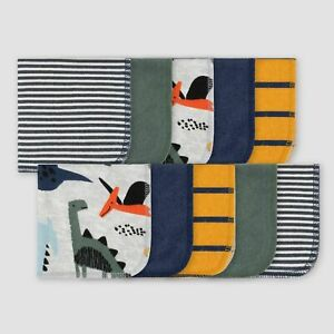 Gerber Baby Dino Washcloth Set 10-Pack