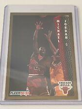 1992-93 Fleer Basketball Michael Jordan #32 Chicago Bulls HOF NBA All-Star