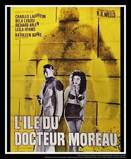 ISLAND OF LOST SOULS  1932 4x6 ft French Grande Movie Poster ReRelease 1960's